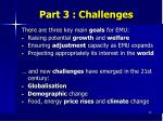 part 3 challenges