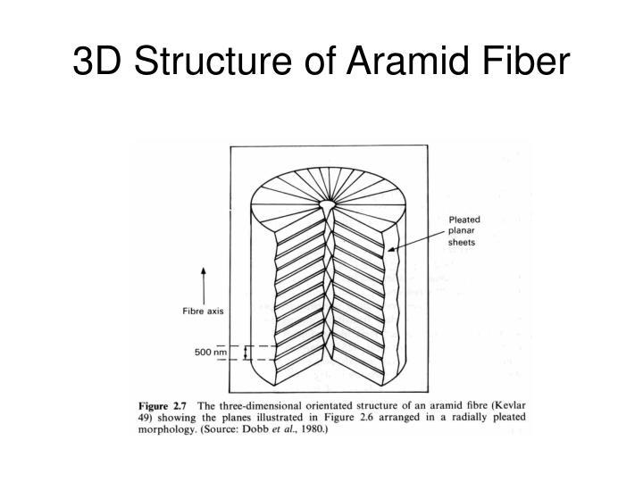 3D Structure of Aramid Fiber