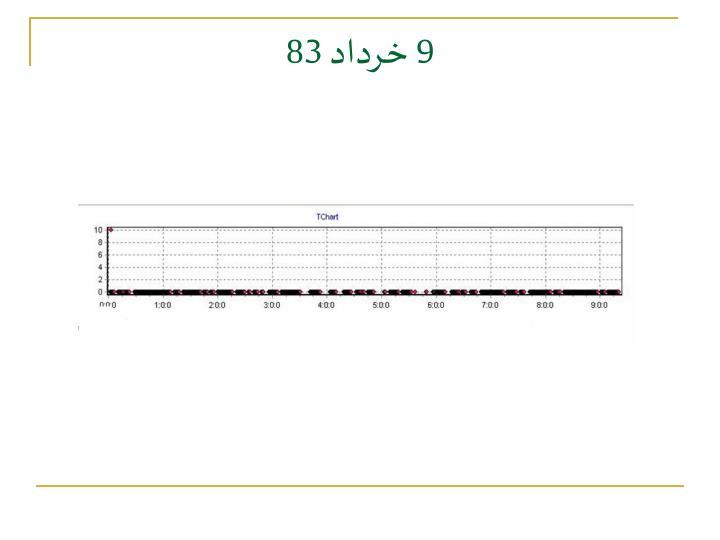 9 خرداد 83