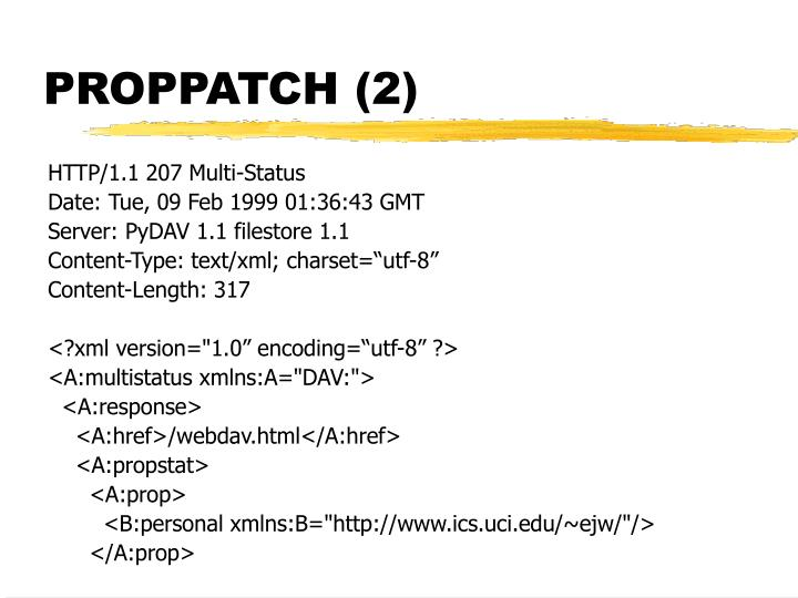 PROPPATCH (2)
