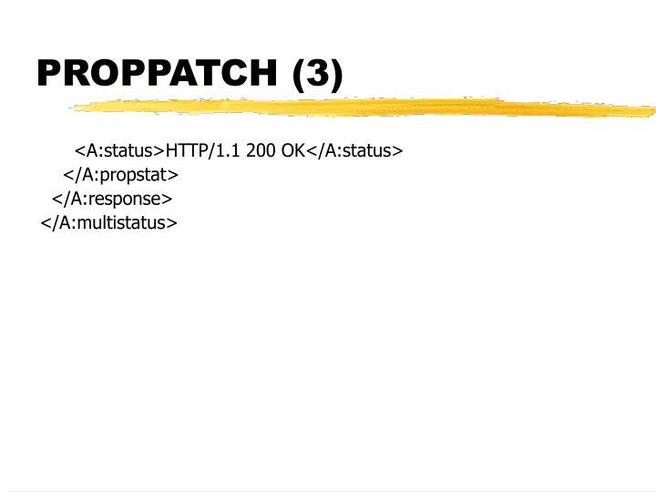 PROPPATCH (3)