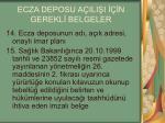 ecza deposu a ili i n gerekl belgeler3