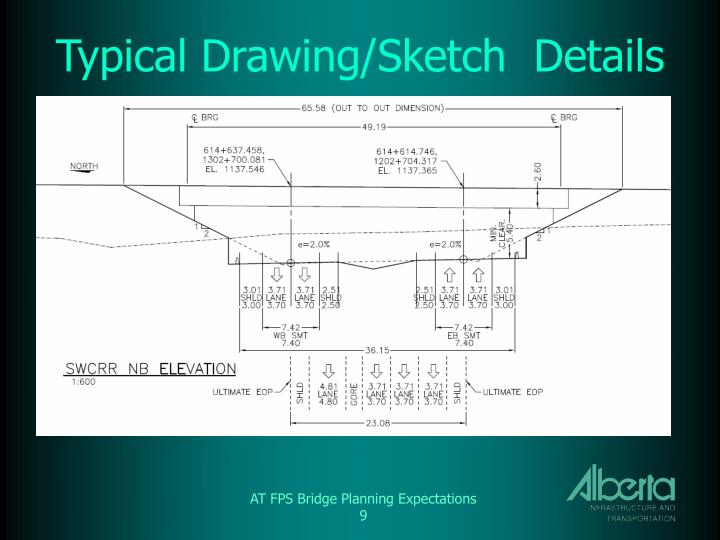 Typical Drawing/Sketch  Details