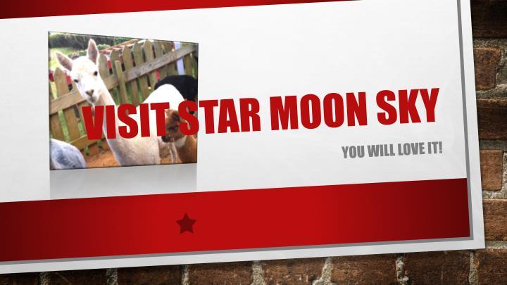 Visit Star Moon Sky