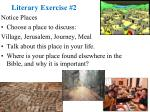 literary exercise 2