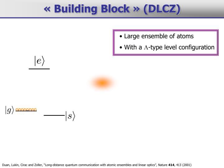 Large ensemble of atoms