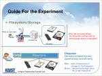 guide for the experiment3