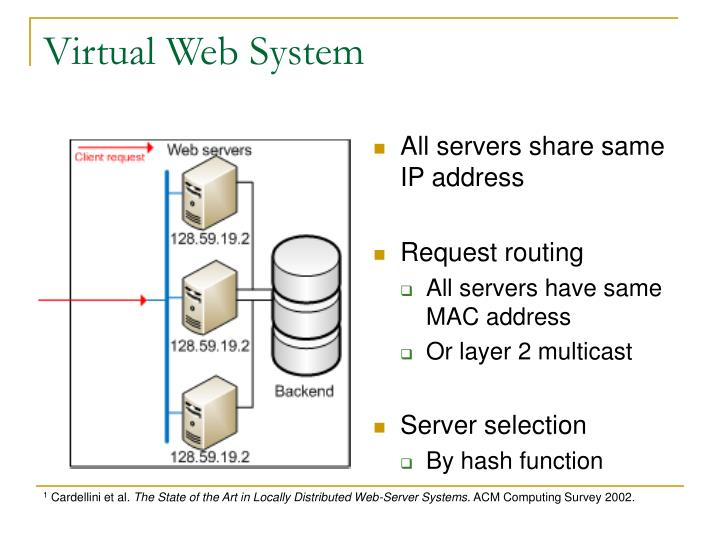 Virtual Web System
