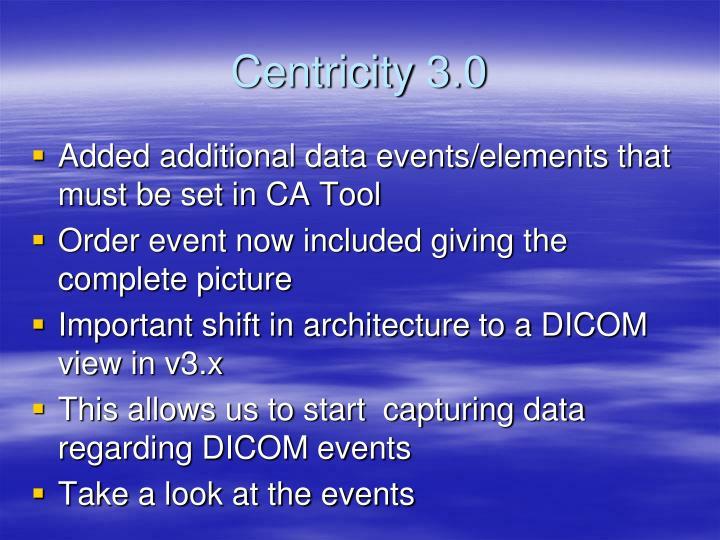 Centricity 3.0