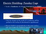 electric shielding faraday cage