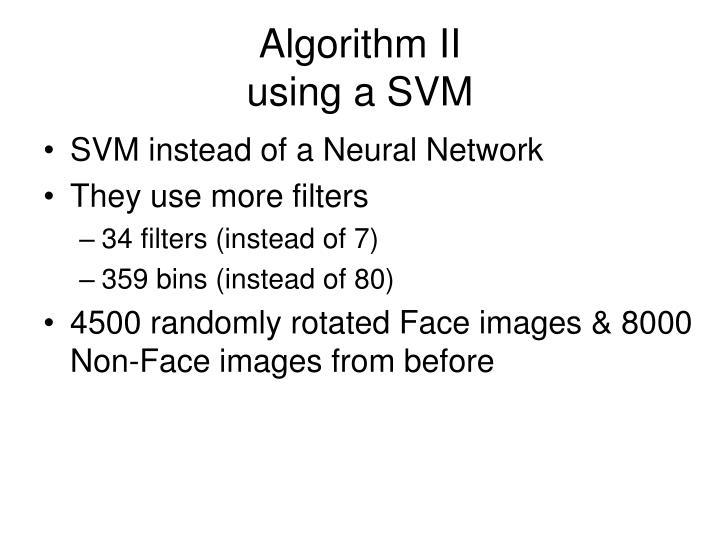 Algorithm II
