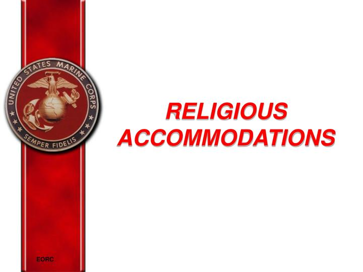 religious accommodations n.