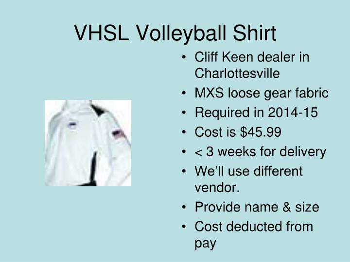 VHSL Volleyball Shirt