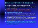 israel the people continued12
