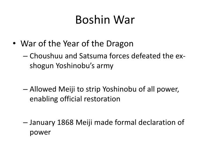 Boshin War