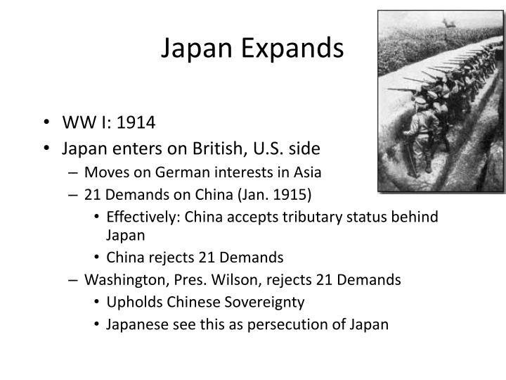 Japan Expands