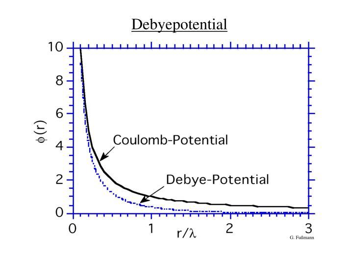 Debyepotential