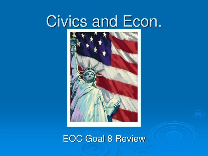 Civics and Econ.