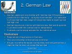 2 german law