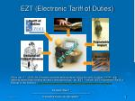 ezt electronic tariff of duties