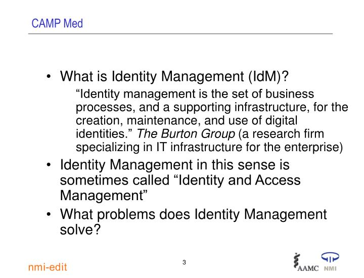 What is Identity Management (IdM)?