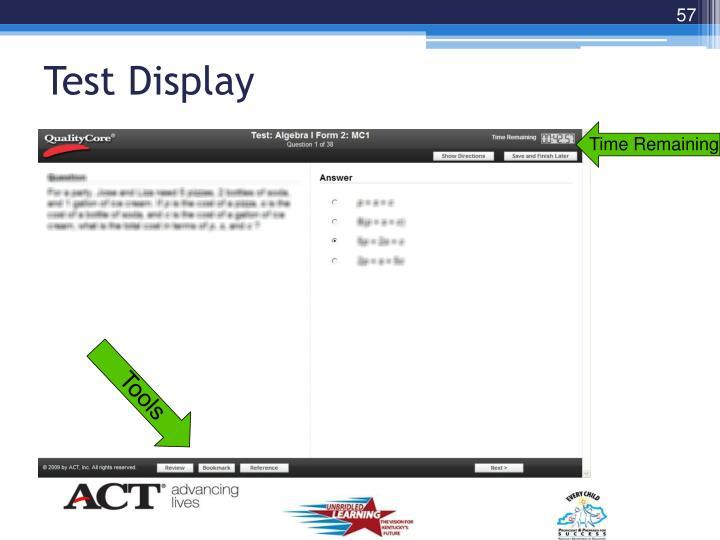 Test Display