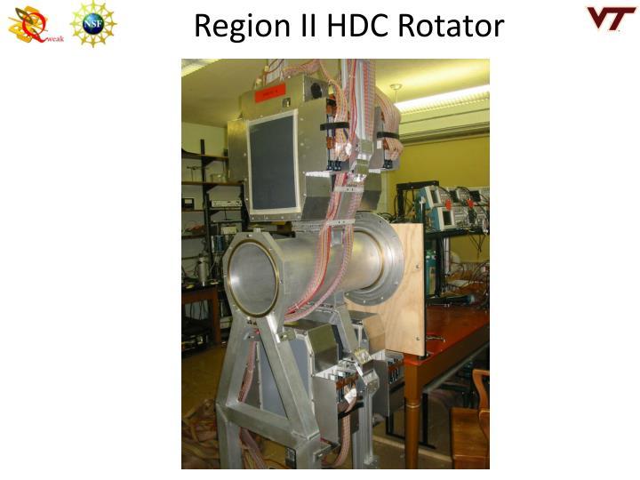 Region II HDC Rotator