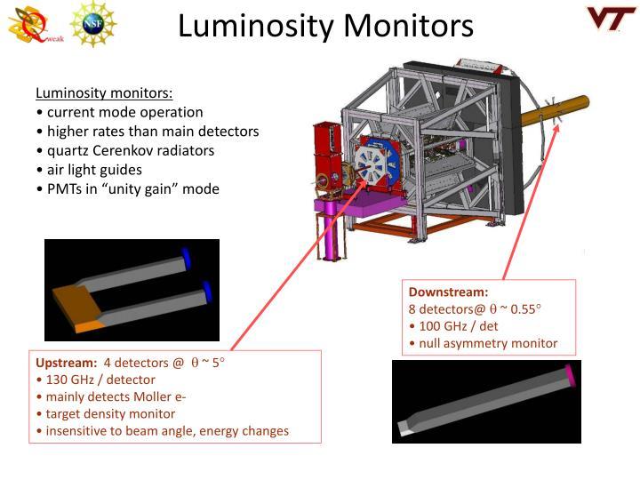 Luminosity Monitors