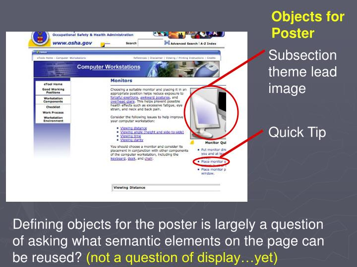 Objects for Poster
