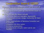 cooperation beyond h2020