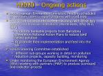 h2020 ongoing actions