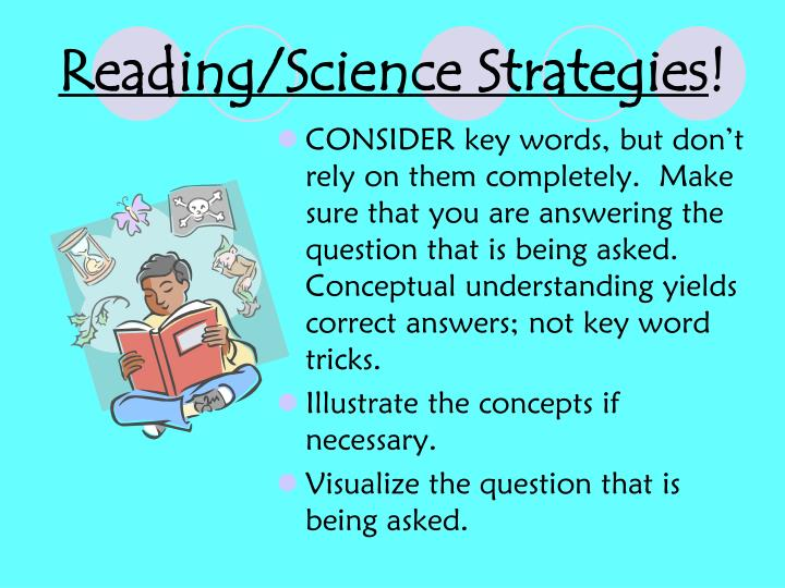 Reading/Science Strategies