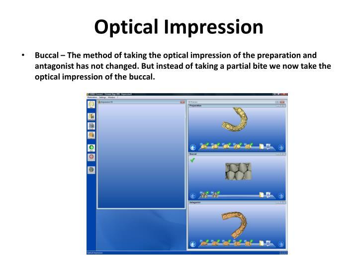 Optical impression
