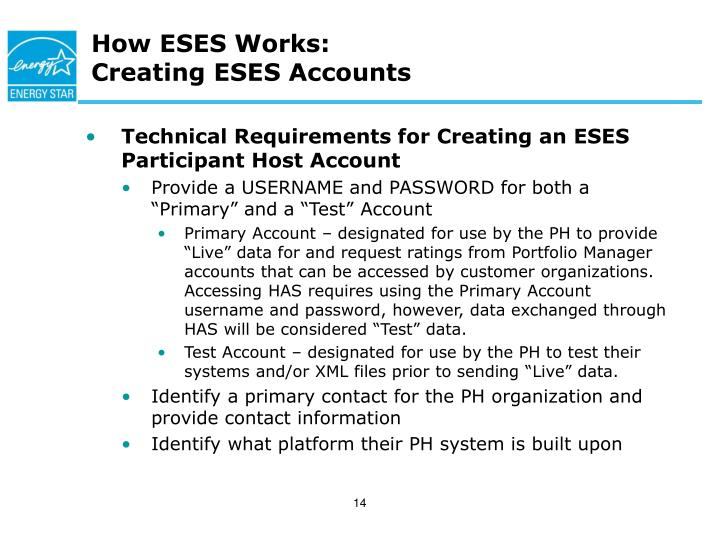 How ESES Works:
