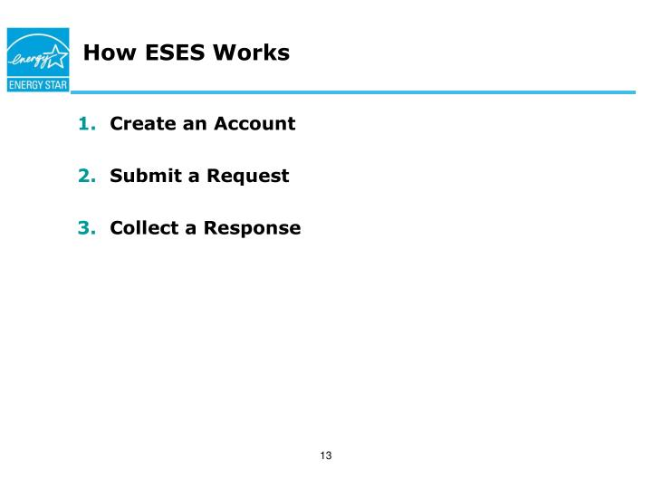 How ESES Works