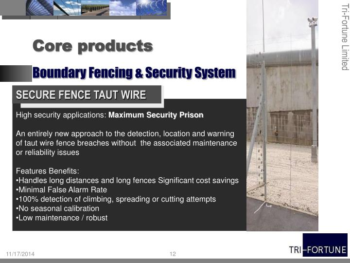 SECURE FENCE TAUT W