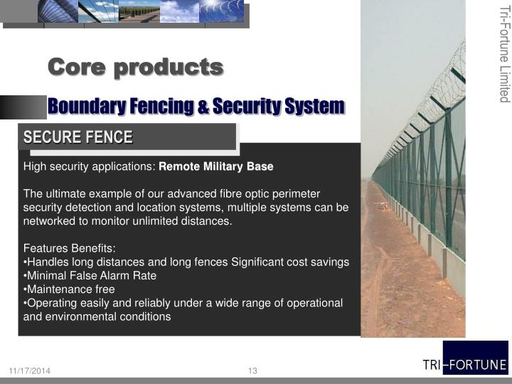 SECURE FENCE