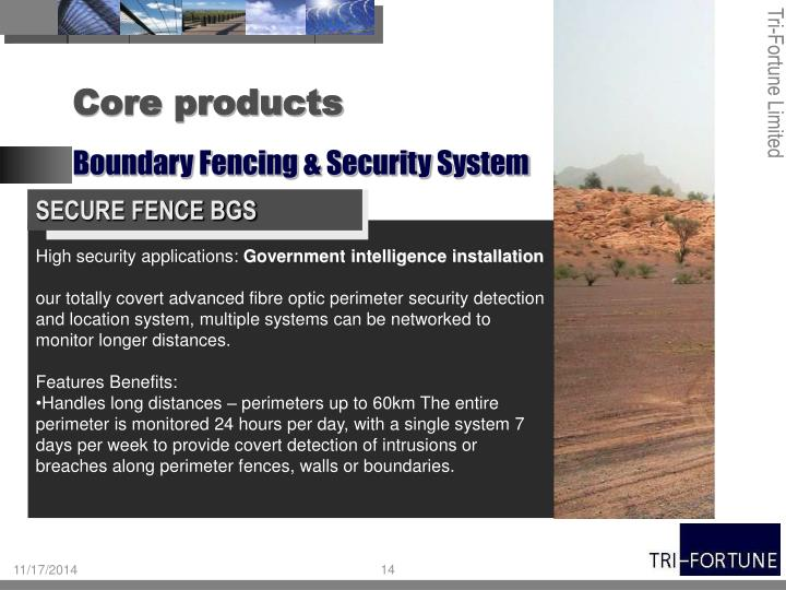SECURE FENCE BGS