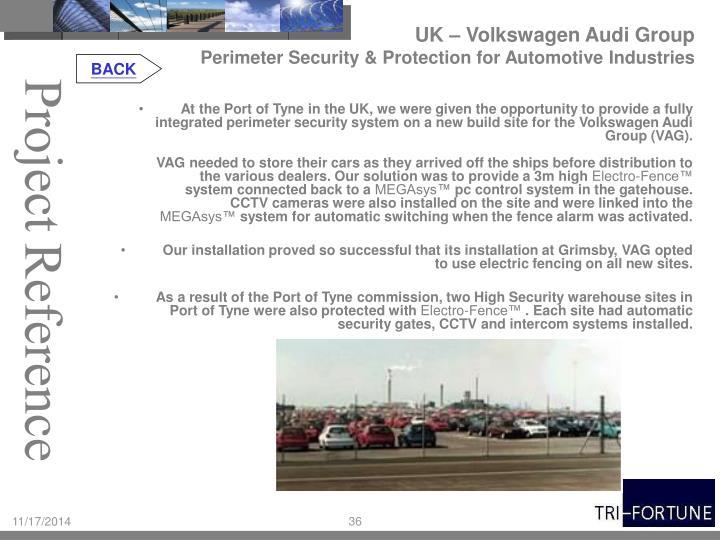 UK – Volkswagen Audi Group