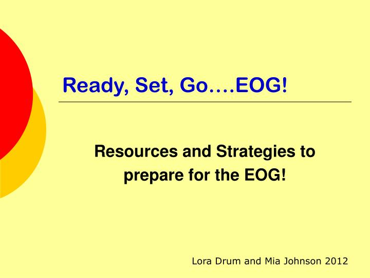 ready set go eog n.
