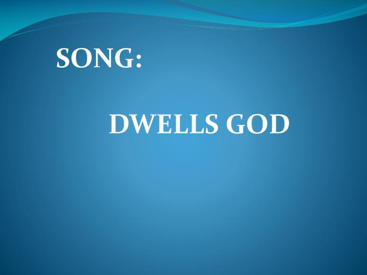 SONG: