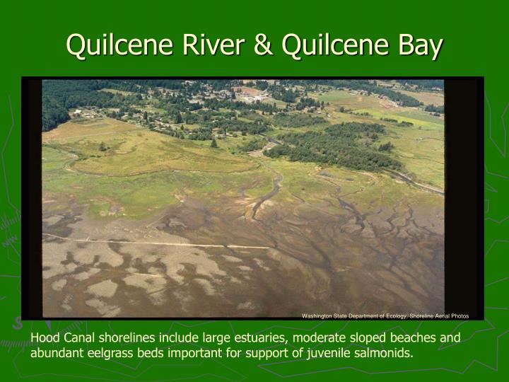 Quilcene River & Quilcene Bay
