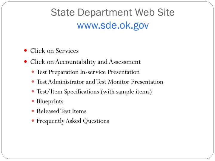 State Department Web Site
