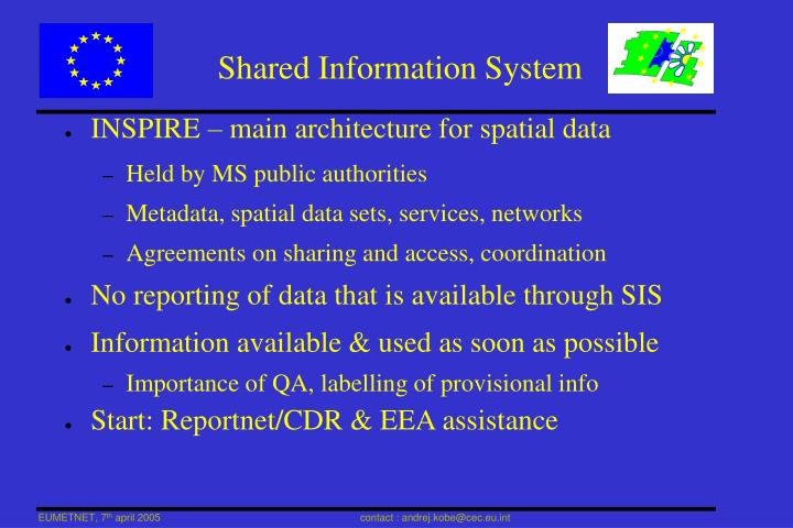 Shared Information System