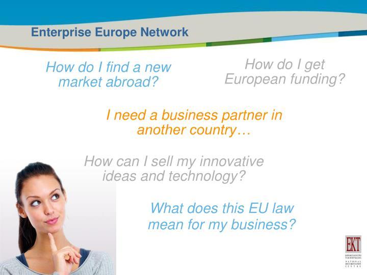 Enterprise Europe Network