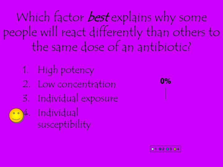 Which factor
