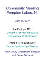 community meeting pompton lakes nj april 21 2010