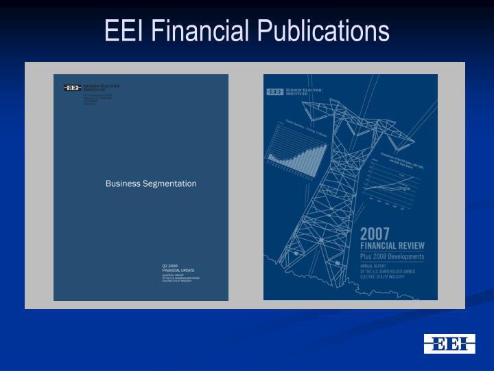 EEI Financial Publications