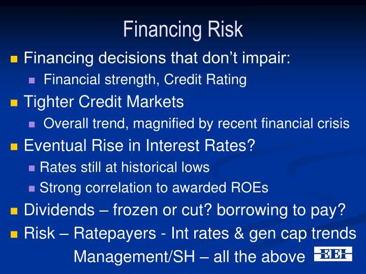 Financing Risk