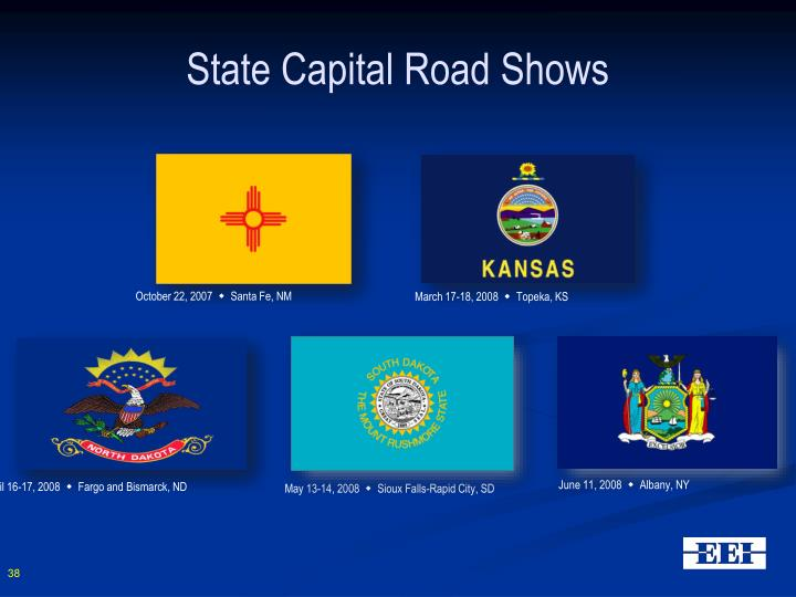 State Capital Road Shows